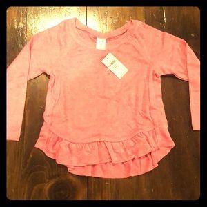 Toddler pink shirt